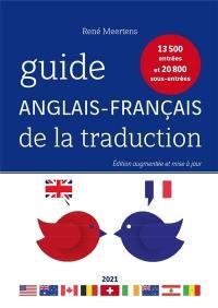 Le guide anglais-français de la traduction 2021