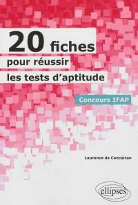 20 fiches pour réussir les tests d'aptitude