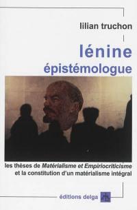 Lénine épistémologue
