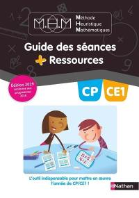 Méthode heuristique de mathématiques CP-CE1 : guide des séances + ressources