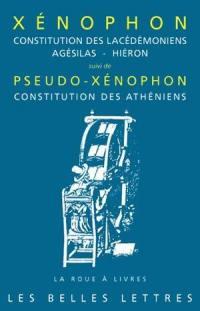 Constitution des Lacédémoniens; Agésilas; Hiéron