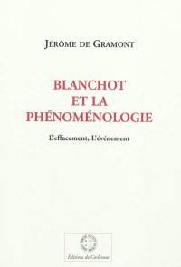 Blanchot et la phénoménologie