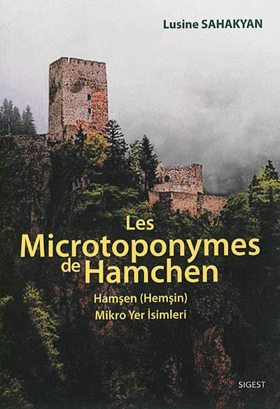 Les microtoponymes de Hamchen = Hamsen (Hemsin), mikro yer isimleri