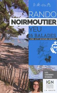 Rando Noirmoutier, Yeu