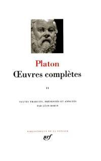 Oeuvres complètes. Volume 2, Théétète