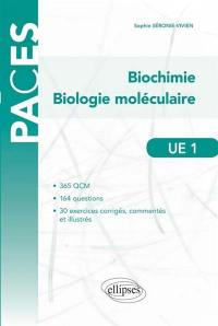 UE1, biochimie, biologie moléculaire