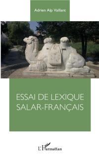 Essai de lexique salar-français