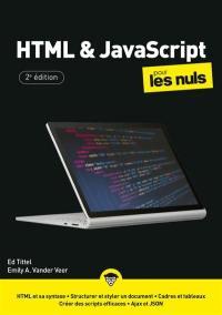 HTML et JavaScript pour les nuls