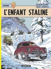 Lefranc. Volume 24, L'enfant Staline