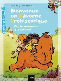 Bienvenue en caverne préhistorique. Volume 2, Pas de mammouth à la cantine !