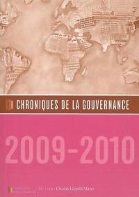 Chroniques de la gouvernance. n° 2009-2010,