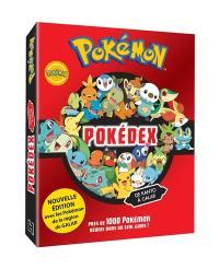 Pokémon : pokédex de Kanto à Galar : près de 1.000 Pokémon réunis dans un seul guide !