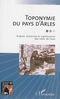 Toponymie du pays d'Arles