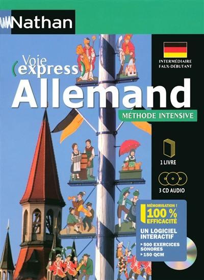 Voie express allemand méthode intensive