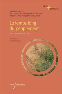 Le temps long du peuplement