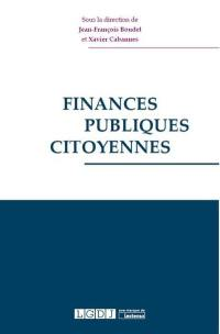 Finances publiques citoyennes