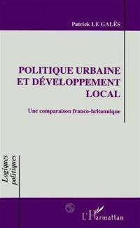 Politique urbaine et développement local
