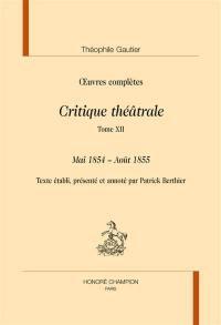 Section VI. Volume 12, Mai 1854-août 1855