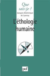 L'Ethologie humaine