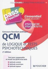 QCM de logique et tests psychotechniques