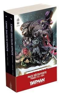 Pack découverte Batman detective comics T1 + T2 offert