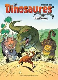 Les dinosaures en bande dessinée. Volume 1,