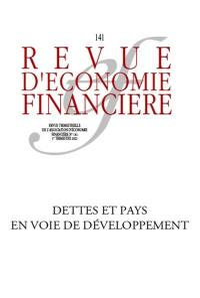 Revue d'économie financière. n° 141, La dette dans les pays émergents et en développement