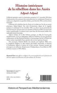 Histoire intérieure de la rébellion dans les Aurès