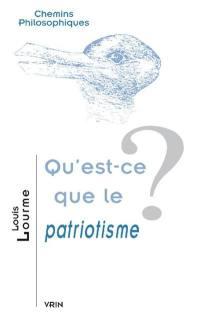 Qu'est-ce que le patriotisme ?