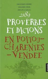 2.189 proverbes et dictons en Poitou-Charentes, Vendée