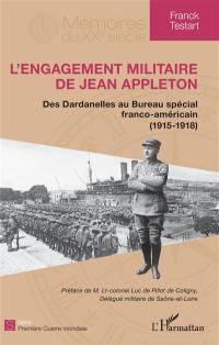 L'engagement militaire de Jean Appleton