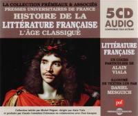 Histoire de la littérature française. Volume 3, Histoire de la littérature française 3