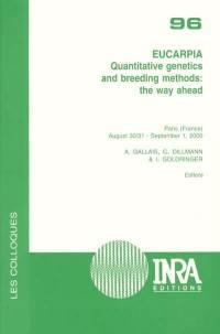 Quantitative genetics and breeding methods, the way ahead