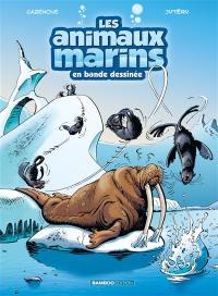 Les animaux marins en bande dessinée. Volume 4,