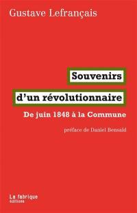 Souvenirs d'un révolutionnaire