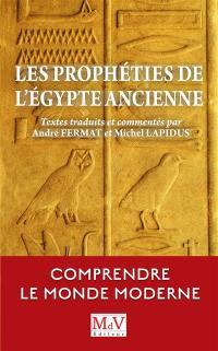 Les prophéties de l'Egypte ancienne