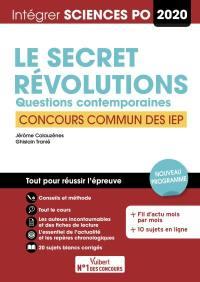 Le secret, révolutions