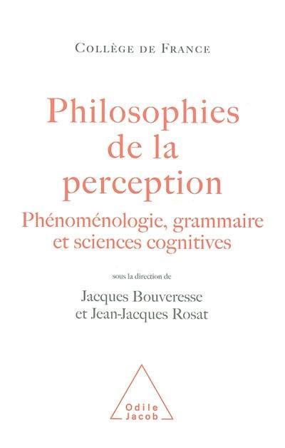 Philosophies de la perception