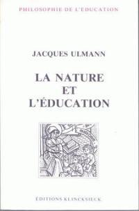 La nature et l'éducation