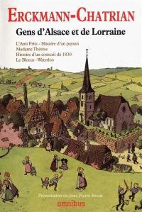 Gens d'Alsace et de Lorraine