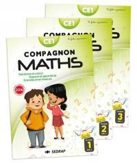 Compagnon maths CE1 : nombres et calcul, grandeurs et mesure, espace et géométrie