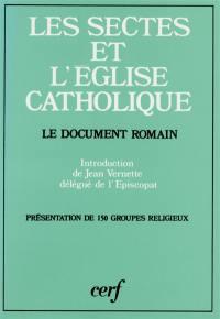 Les Sectes et l'Eglise catholique