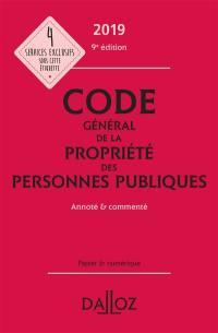 Code général de la propriété des personnes publiques 2019
