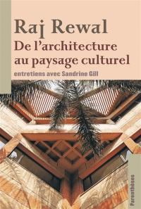 De l'architecture au paysage culturel