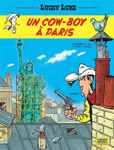 Les aventures de Lucky Luke d'après Morris. Volume 8, Un cow-boy à Paris