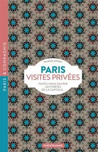 Paris, visites privées