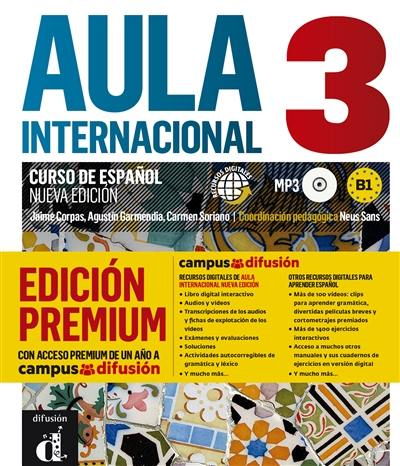 Aula internacional 3, edicion premium