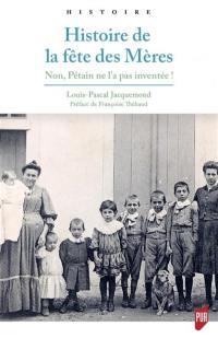 Histoire de la fête des mères