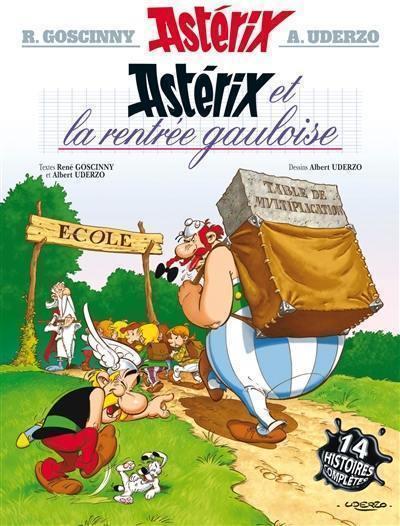 Une aventure d'Astérix. Volume 32, Astérix et la rentrée gauloise