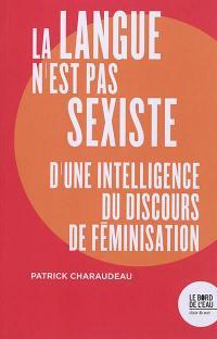 La langue n'est pas sexiste